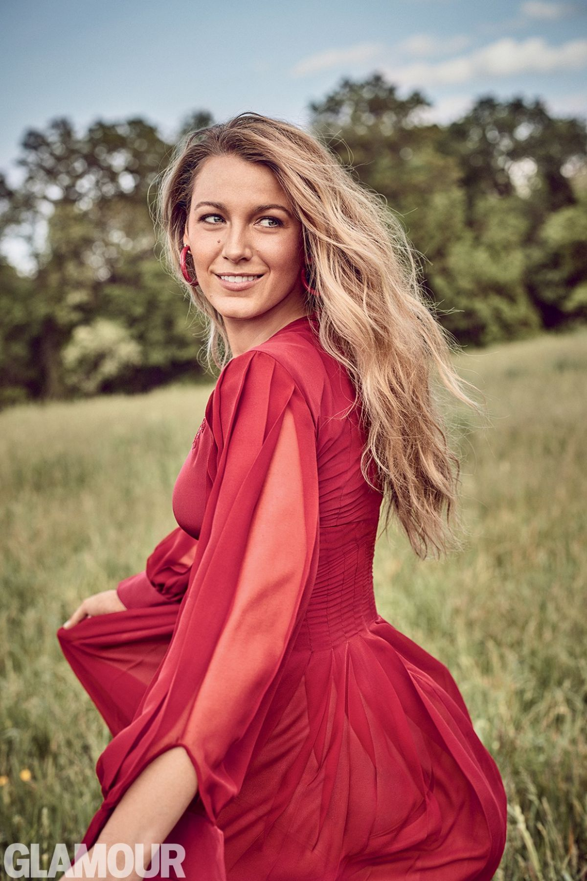 BLAKE LIVELY for Glamo...