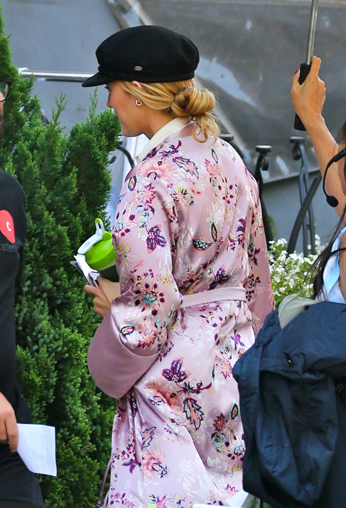 BLAKE LIVELY on the Set of A Simple Favor in Toronto 08/21/2017