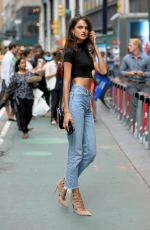 BLANCA PADILLA at 2017 Victoria's Secret Fashion Show Casting in New York 08/21/2017
