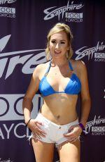 BRETT ROSSI in Bikini Top Hosts Sapphire Pool & Dayclub in Las Vegas 08/19/2017