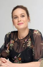 BRIE LARSON at The Glass Castle Press Conference in Los Angeles 07/24/2017