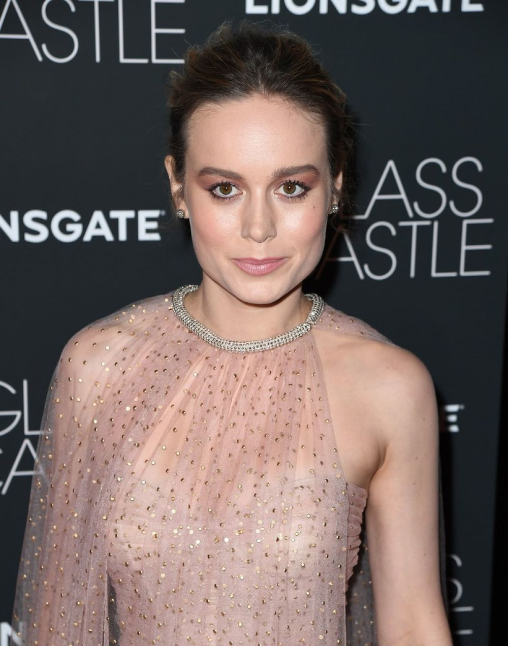 BRIE LARSON at The Glass Castle Screening in New York 08/09/2017