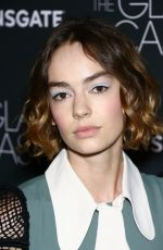 BRIGETTE LUNDY-PAINE at The Glass Castle Premiere in New York 08/09/2017