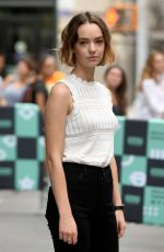 BRIGETTE LUNDY-PAINE Leaves AOL Build Speaker Series in New York 08/14/2017