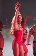 BRITNEY SPEARS Performs at Planet Hollywood in Las Vegas 08/11/2017