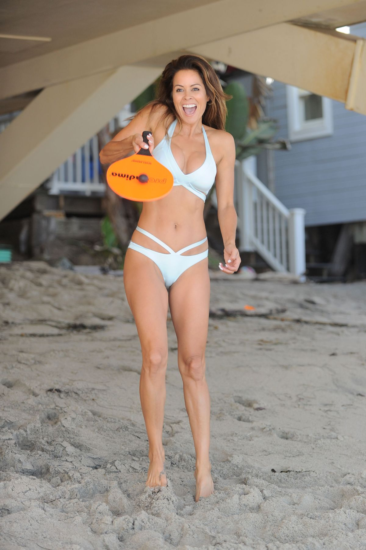 Not clear. brooke burke charvet bikini grateful