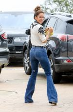 BROOKE BURKE in Jeans Out in Malibu 08/25/2017
