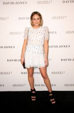 BROOKE TESTONI at David Jones S/S 2017 Collections Launch in Sydney 08/09/2017