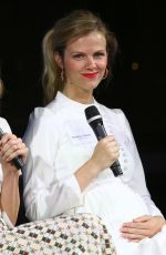 BROOKLYN DECKER at Champion Equality. Make it Your Business Panel in New York 08/23/2017
