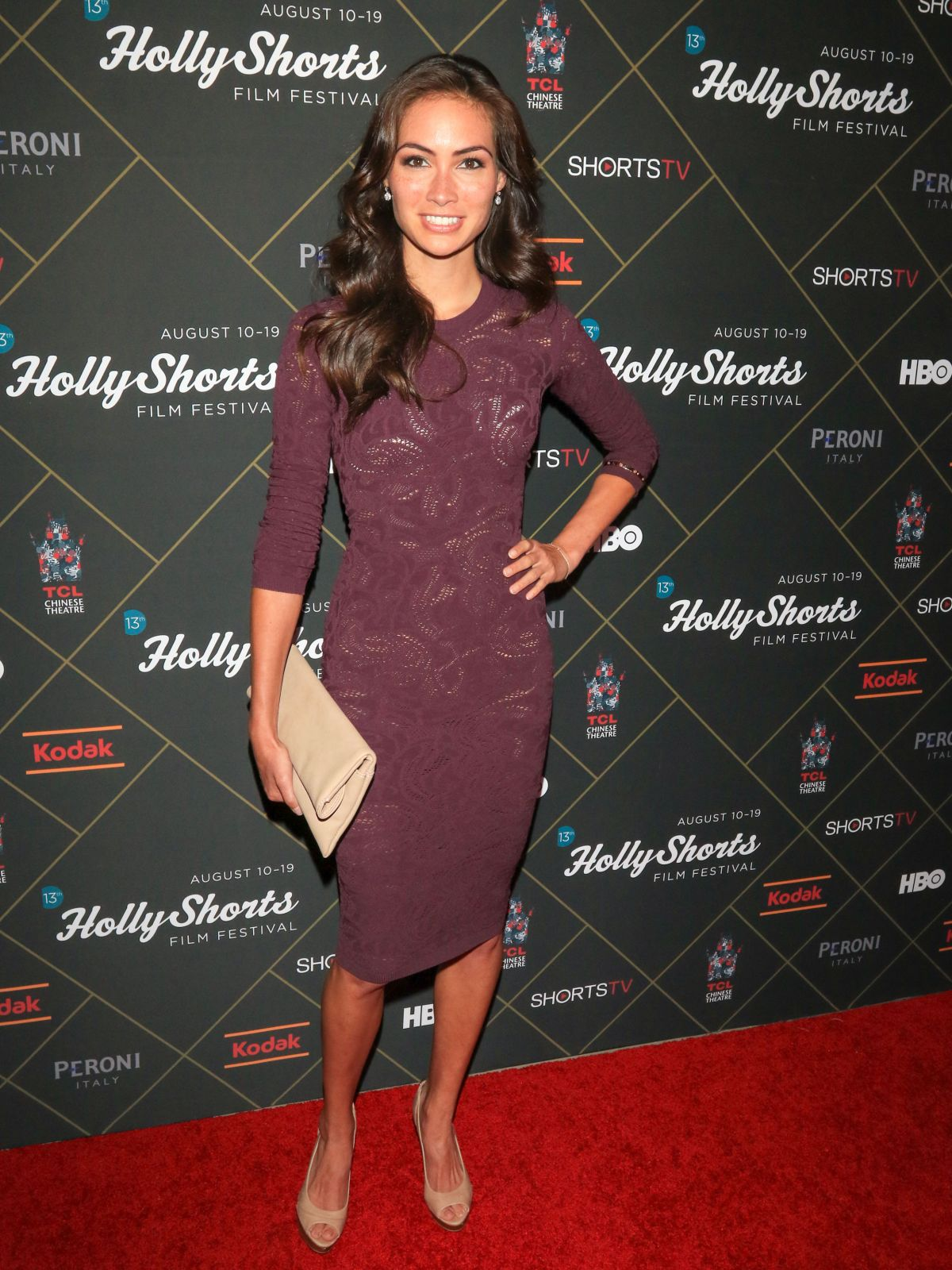 CAITLIN MCHUGH at Hollyshorts Opening Night in Hollywood 08/10/2017