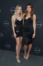 CAMBRIE and FAITH SCHRODER at Growing Up Supermodel Premiere in Studio City 08/16/2017