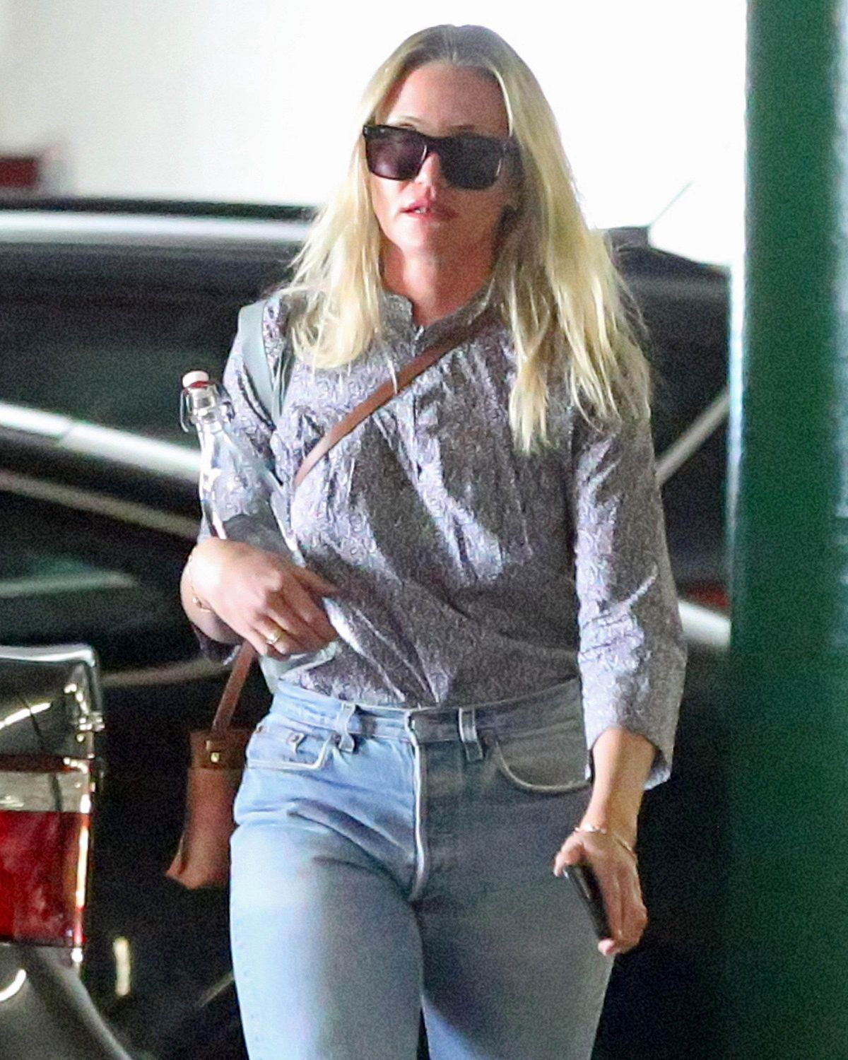 CAMERON DIAZ Arrives at a Meeting in Los Angeles 08/18/2017