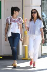 CAMILLA BELLE Out for Lunch in Los Angeles 08/04/2017
