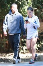 CAMREN BICONDOVA Out Hiking in Los Angeles 08/19/2017