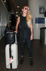 CANDICE SWANEPOEL at Los Angeles International Airport 08/30/2017