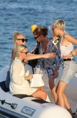 CARA DELEVINGNE at Club 55 in St Tropez 08/26/2017