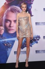 CARA DELEVINGNE at Valerian and the City of a Thousand Planets Premiere in Mexico 08/02/2017