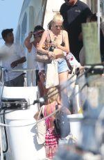 CARA DELEVINGNE in Bikini at a Yacht in Mexico 08/16/2017