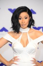 CARDI B at 2017 MTV Video Music Awards in Los Angeles 08/27/2017