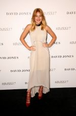 CARISSA WALFORD at David Jones S/S 2017 Collections Launch in Sydney 08/09/2017