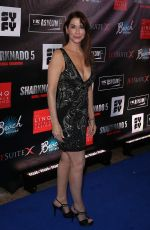 CAROLINE WILLIAMS at Sharknado 5: Global Swarming Premiere in Las Vegas 08/06/2017