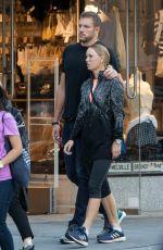 CAROLINE WOZNIACKI and David Lee Out in New York 08/23/2107