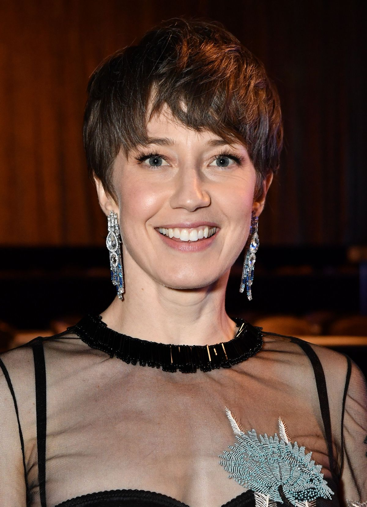 CARRIE COON at 33rd Annual Television Critics Association Awards in Beverly Hills 08/05/2017