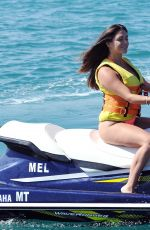 CASEY BATCHELOR in Swimsuit Jet Skiing in Portugal 08/17/2017