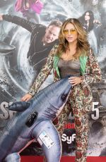 CASSIE SCERBO at Sharknado 5: Global Swarming Photocall in Madrid 08/10/2017