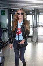 CAT DEELEY at Heathrow Airport in London 08/05/2017
