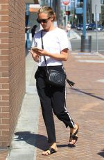 CAT DEELEY Out and About in Beverly Hills 08/28/2017
