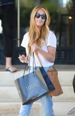 CAT DEELEY Shopping at Barneys New York in Beverley Hills 08/10/2017