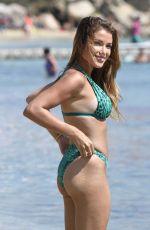 CATARINA SIKINIOTIS in Bikini at Platis Gialos Beach in Mykonos 08/23/2017