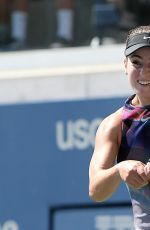 CATHERINE BELLIS at 2017 US Open Tennis Championships 08/30/2017