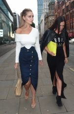 CATHERINE TYLDESLEY at Be Impossible Bar and Restaurant in Manchester 08/24/2017