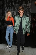 CAYLEY KING at Catch LA in West Hollywood 08/25/2017
