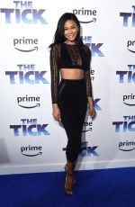 CHANEL IMAN at The Tick Premiere in New York 08/16/2017