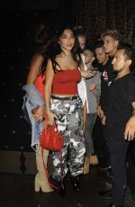 CHANTEL JEFFRIES at Blind Dragon in West Hollywood 08/16/2017