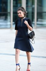 CHARLI XCX Arrives at BBC Breakfast Studio in Manchester 08/01/2017