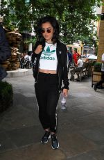 CHARLI XCX Out and About in London 08/24/2017