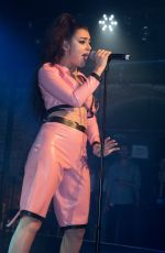 CHARLI XCX Performs at G-A-Y Club Heaven in London 08/26/2017