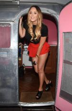 CHARLOTTE CROSBY and VOGUE WILLIAMS Promotes Flique Cosmetics in Dublin 08/23/2017