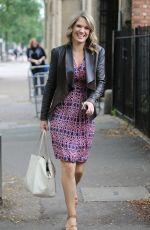 CHARLOTTE HAWKINS Arrives at ITV Studios in London 08/22/2017