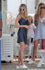 CHARLOTTE MCKINNEY Out for Coffee in Malibu 08/02/2017