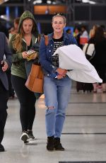 CHELSEA HANDLER at LAX Airport in Los Angeles 08/10/2017