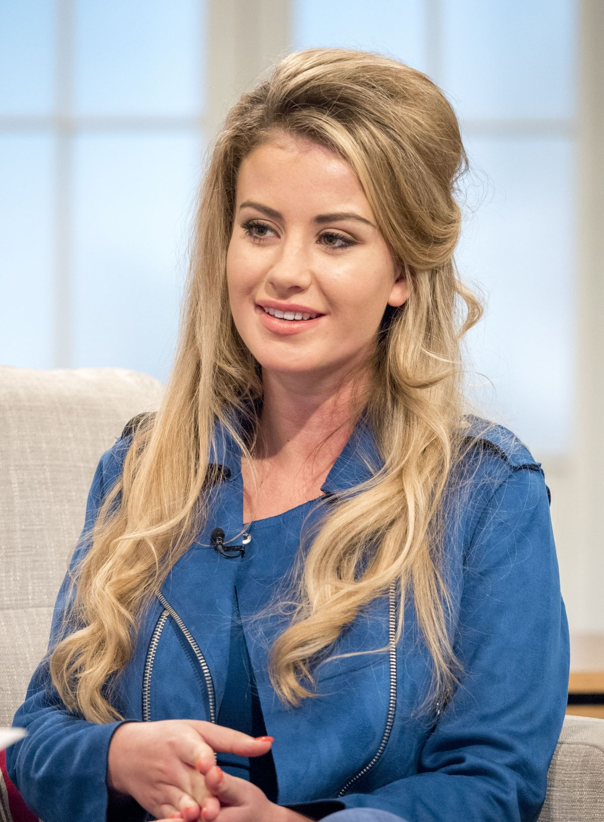 CHLOE AYLING at Lorraine Show in London 08/16/2017