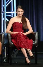 CHLOE EAST at Kevin (Probably) Saves the World Panel in Los Angeles 08/06/2017