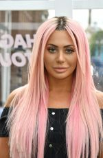 CHLOE FERRY at Geordie Shore Land of Hope and Geordie Photocall in London 08/16/2017