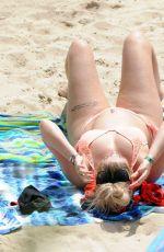 CHLOE FERRY in Bikini on the Beach in Ibiza 08/17/2017