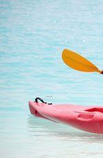 CHLOE GOODMAN in Bikini Paddle Boarding in Barbados 08/20/2017